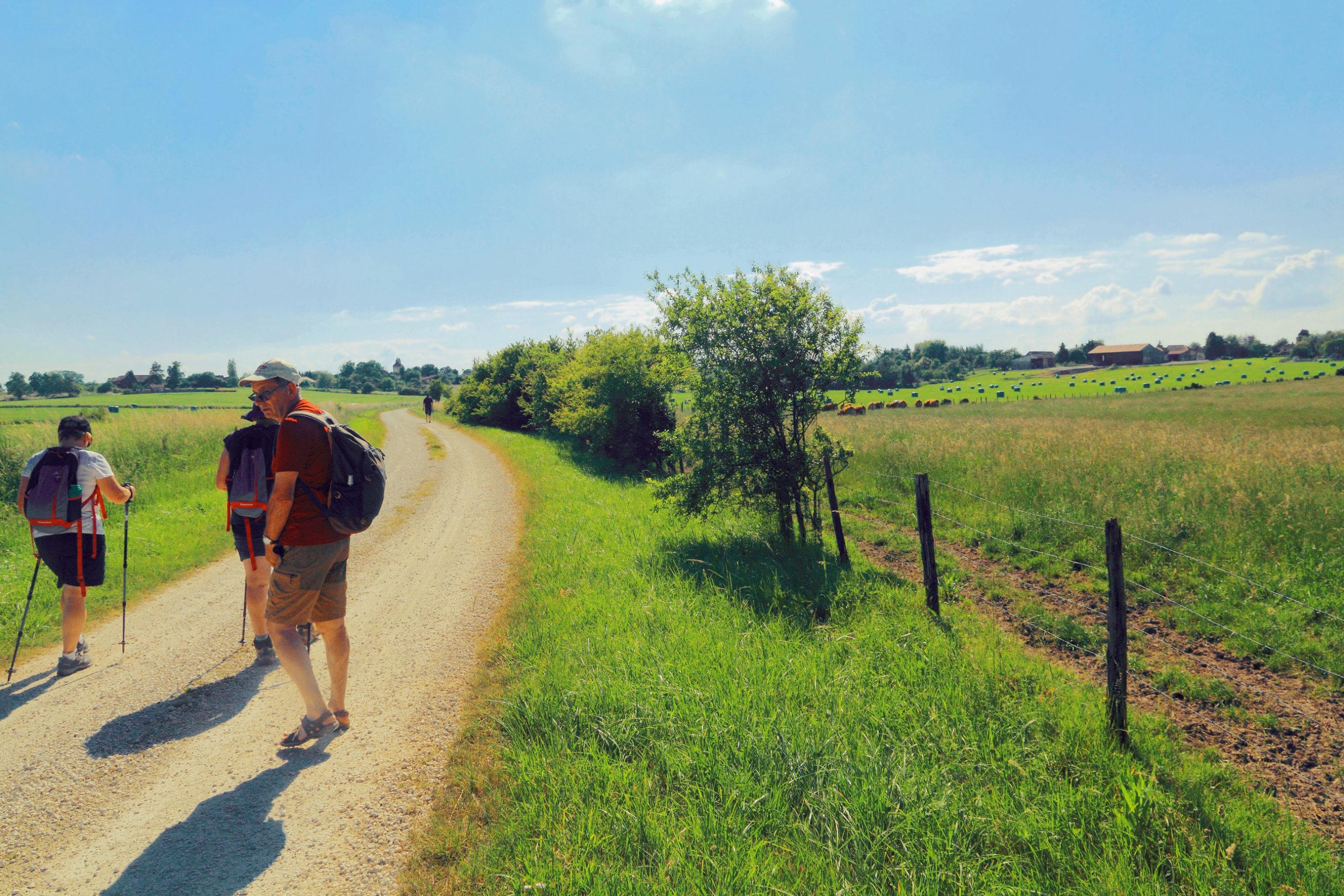 Chemin de la Grande Ruelle à Géraudot